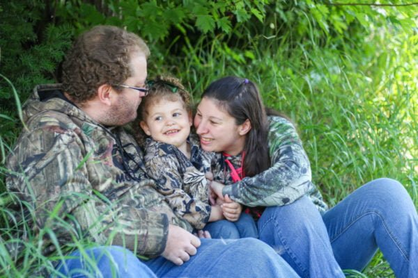 Overcoming shame, finding joy and becoming a mom: Amanda's story